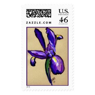 Aeronautical Iris Painting Stamp stamp