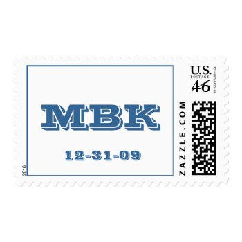 Bar Mitzvah Varsity Letter stamp
