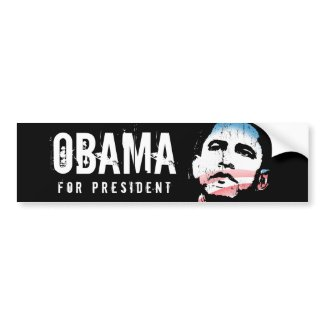 funny obama bumper stickers funny obama moustache bumper sticker by ...