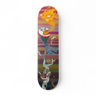 bg temp Skateboard skateboard