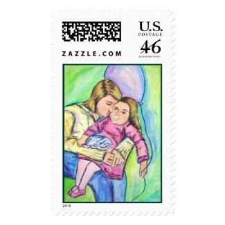 Binkey, Blankey, Balloon stamp