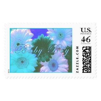 Blue Moon Baby Boy Stamp(Script) stamp