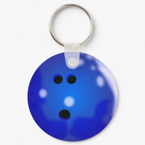 Bowling Ball Keychain keychain