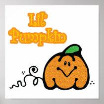 Cute Lil Pumpkin posters