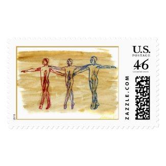 Dance Harmony Stamp stamp