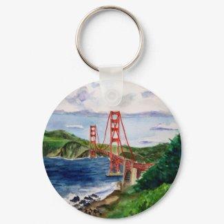 Golden Gate Bridge Keychain keychain