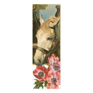 Horse LOVE Note or Gift tags profilecard