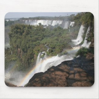 Iguazu Falls mousepad