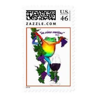 In Vino Veritas stamp