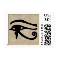 eye of horus postage stamps  in association with Zazzle.com