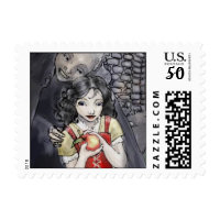 snow white postage stamps  in association with Zazzle.com