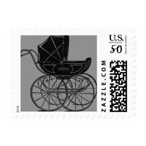 gothic baby postage stamps  in association with Zazzle.com