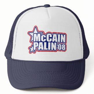 McCain Palin Stars hat