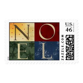NOEL Christmas Stamp stamp