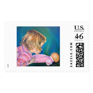 Pink Pajamas Stamp stamp
