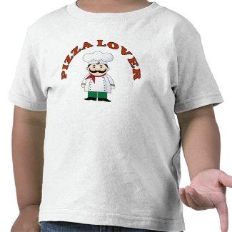 Pizza Lover Kids T-shirt shirt