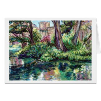 Serenity (Painting) Card card