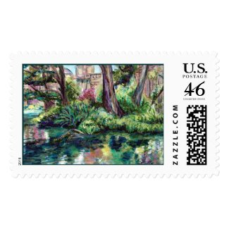 Serenity (Painting) stamp