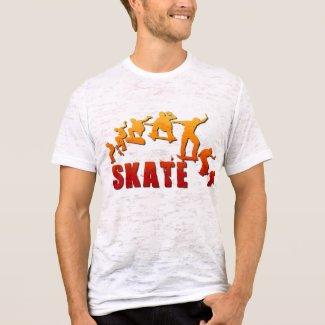 Skateboarding T-shirt shirt