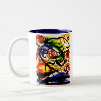 Space Travel & Atomic Energy Abstract Mug mug