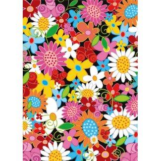 Spring Flowers Invitation / Blank Card card