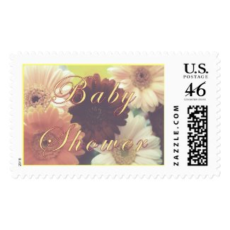 Summer Morning Baby Shower Daisy Stamp stamp