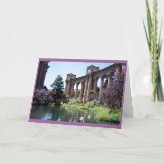 Swan Songs Photo Card card