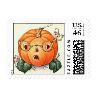 Vintage Halloween Stamp 13 stamp