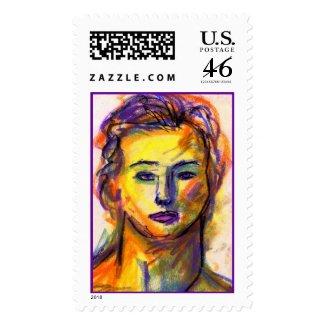 Violet Eyes Stamp stamp