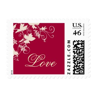 WineCountry Love small stamp